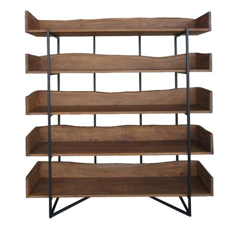 Brown Bookshelf by Contemporary Rustic Brown Bookshelf Rc Willey Furniture