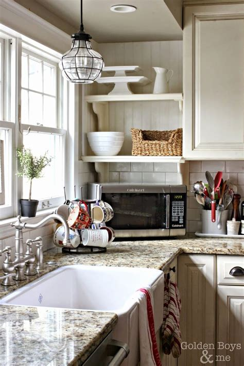 Kitchen Sink Lighting Ideas Old Style Sinks Country Lights