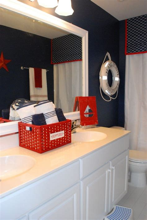 boys bathroom   nautical theme  magnolia lane