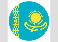 Kazakhstan Flag Vector Emoji Icon Free Download Vector