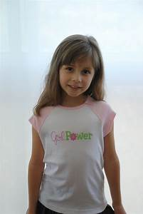 Girl Power T-shirt for tweens Club Chica Circle - where