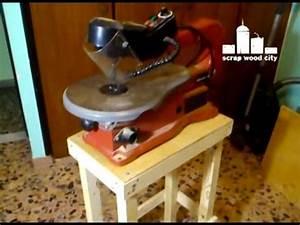 Super easy DIY scroll saw table - YouTube