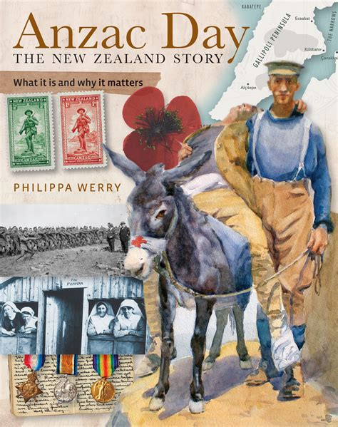 around the bookshops non fiction anzac day the new zealand story