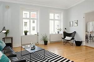 Tapis Noir Et Blanc Scandinave : le fauteuil scandinave confort utilit et style la une ~ Teatrodelosmanantiales.com Idées de Décoration