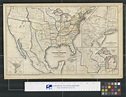 Political map of the United States, Texas, Mexico and the ...