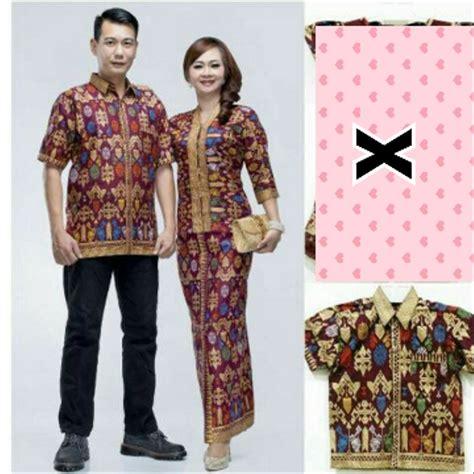 jual baju batik couple sarimbit gamis model safitri jumbo
