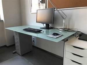 Ikea Schreibtisch Glas : ikea schreibtisch aus glas in heppenheim ikea m bel kaufen und verkaufen ber private ~ Watch28wear.com Haus und Dekorationen