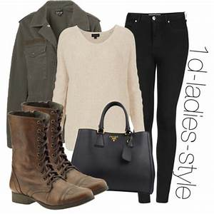 inspired look with brown combat boots - Polyvore