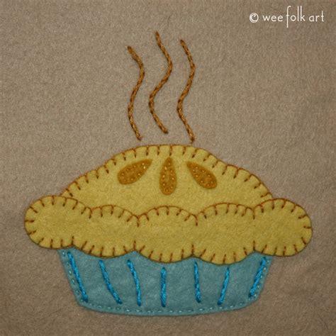 Applique Patterns by Dish Apple Pie Applique Pattern Wee Folk