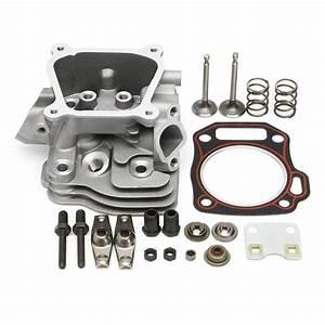 Cylinder Head Intake Exhaust Valve Gasket Kit For Honda