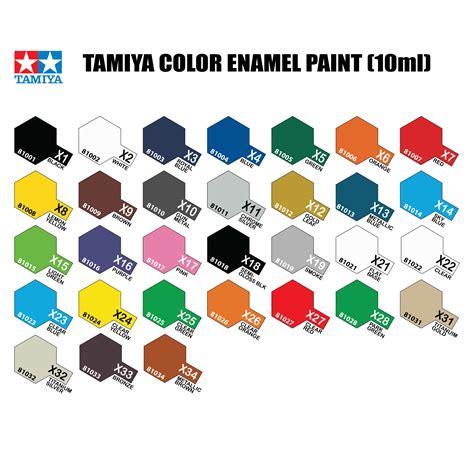 tamiya enamel paint color chart todayss org