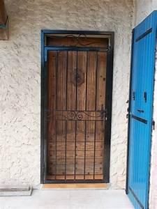 grille pour porte d entree aix en provence la petite forge With grille de défense porte d entrée