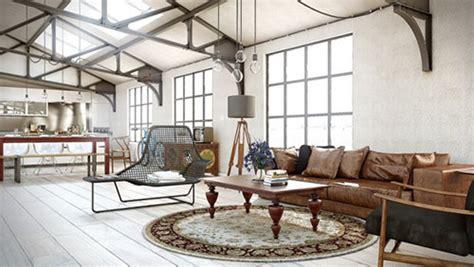 tapis de chambre york industriële woonkamer inrichten interieur inrichting