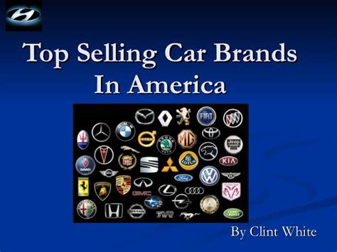 Top Selling Car Brands In America