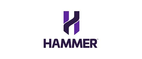 brand new new name logo and identity for hammer series by designwerk