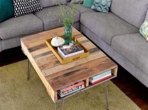 faience cuisine design 17 idées pour fabriquer une table basse palette deco cool