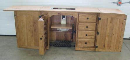 Sewing Cabinet Woodworking Plans by Woodworking Plans Sewing Machine Cabinet Image Mag