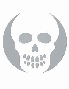 8 Best Images of Free Printable Skull Templates - Airbrush ...
