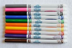 Crayola Ultra-Clean Washable Fine Tip Markers: What's ...