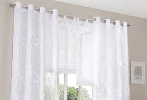vorhang schlafzimmer 1x raffrollo 100 x 160 weiß rollo ausbrenner vorhang äste motiv schlaufen neu ebay