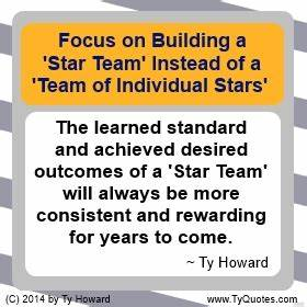 Ty Howard's... Solid Team Quotes