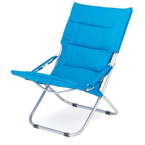 chaise longue plage gelert chaise de plage rembourrée newton achat vente