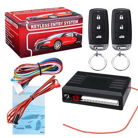 Universal Vehicle Central Locking Kit Car Alarm System