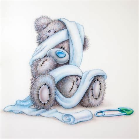 muurschildering babykamer airbrush me to you beertje luier speld airbrush babykamer