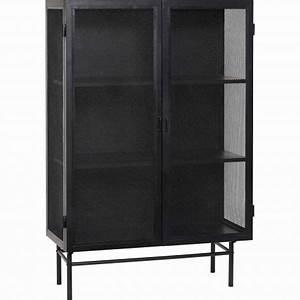 Outdoor Schrank Metall : h bsch interior lochblech schrank 2 t rig aus metall schwarz ~ Michelbontemps.com Haus und Dekorationen