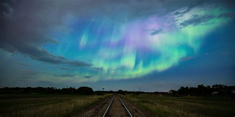 canada northern lights northern lights dazzle canadians just as summer begins