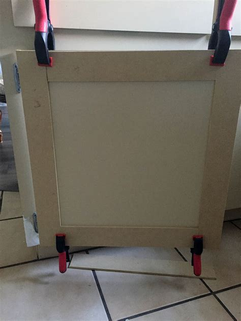 How to Make Shaker Style Kitchen Cabinet Doors on a Budget