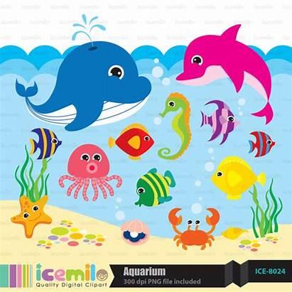 Sea Under Clipart Background Digital Clip Clipground