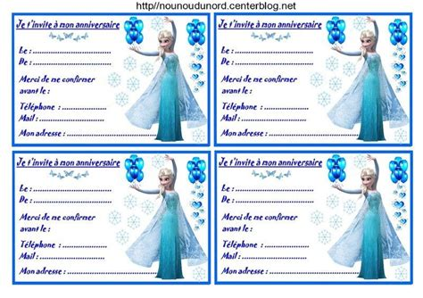 Invitation Anniversaire 4 Ans Fille Zi47