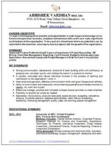best resume format 2015 download over 10000 cv and resume sles with free down