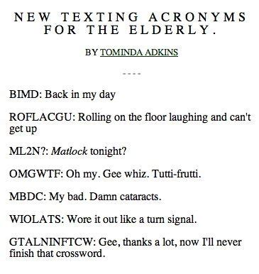 LOL, OMG and ILY: 60 of the dominating abbreviations