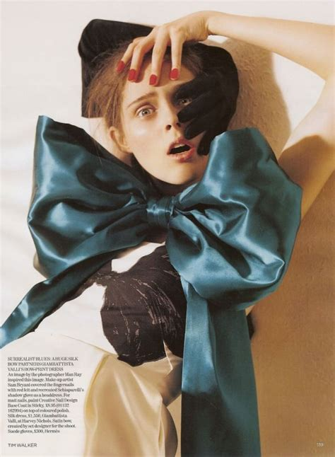 Fashion Editorial Coco Rocha Tim Walker For Vogue