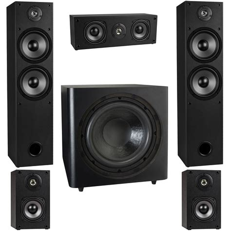 surround sound system t652 5 1 home theater surround sound speaker system with 12 quot subwoofer