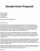 How To Write A Letter Of Application For Grant Sample Grant Proposal Kurzweil Educational Systems Party Fresh Essays Thesis Proposal Letter Format Doc 728942 Sample Grant Applications Grant Proposal