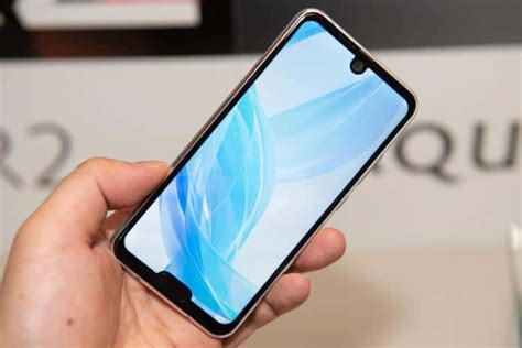 sharp aquos r2 compact the dual notch phone with