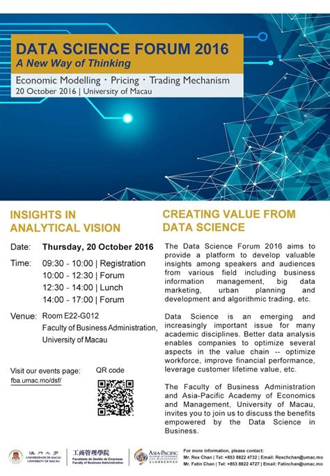 data science forum faculty business administration