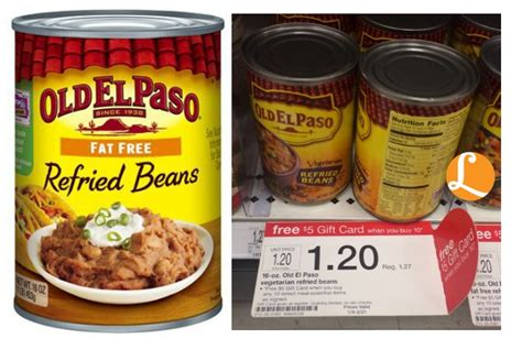 74658 El Paso Refried Beans Coupon by El Paso Coupon Just 0 37 At Target Living Rich