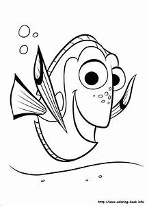 Animations A 2 Z - Coloring pages of Finding Dory