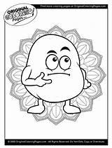 Coloring Potato Potatoes sketch template