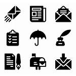 Office Icon Icons Library Courier Parcel Sending