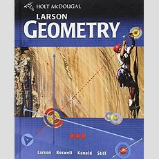 Larson Geometry By Holt Mcdougal 547315171 Ebay