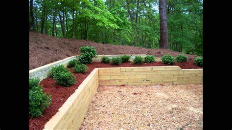durable landscape timbers retaining wall  great decoration bistrodre porch  landscape ideas
