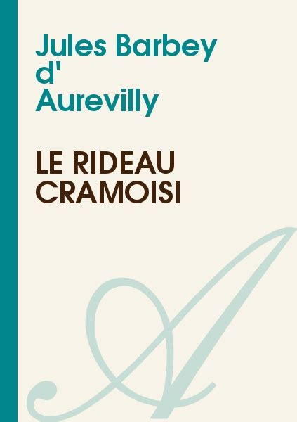 32 books of jules barbey d aurevilly quot la ma 238 tresse rousse