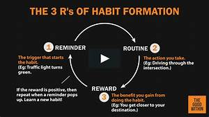 the 3 rs of habit formation on vimeo