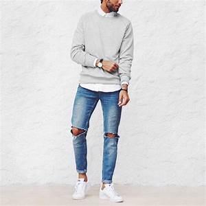 Tenue Blanche Homme : les 25 meilleures id es de la cat gorie basket blanche homme sur pinterest sneakers blanche ~ Melissatoandfro.com Idées de Décoration