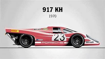 Porsche Mans Le Cars Race Cool Winning